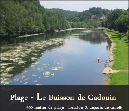 photo Plage - Le Buisson de Cadouin