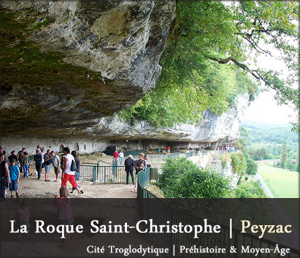 photo Roque Saint Christophe - Peyzac